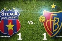 Steaua Bucuresti – FC Basel 1-1 (0-0), in etapa a III-a a grupelor Ligii Campionilor