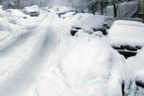 Primul COD GALBEN de ninsoare al acestei ierni ar putea intra in vigoare de luni