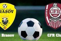 FC BRASOV – CFR CLUJ 0-0, Liga 1 – etapa a XV-a