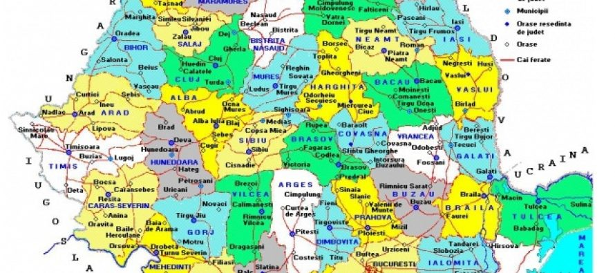 Noua HARTA a Romaniei! Ce inseamna regionalizarea si descentralizarea