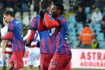 Astra Giurgiu – Steaua Bucuresti 1-1 (1-1). Campionii sunt in avantaj dupa dubla cu liderul