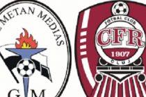 Gaz Metan Medias – CFR Cluj 2-0 (0-0) in ultimul meci al etapei a 16-a