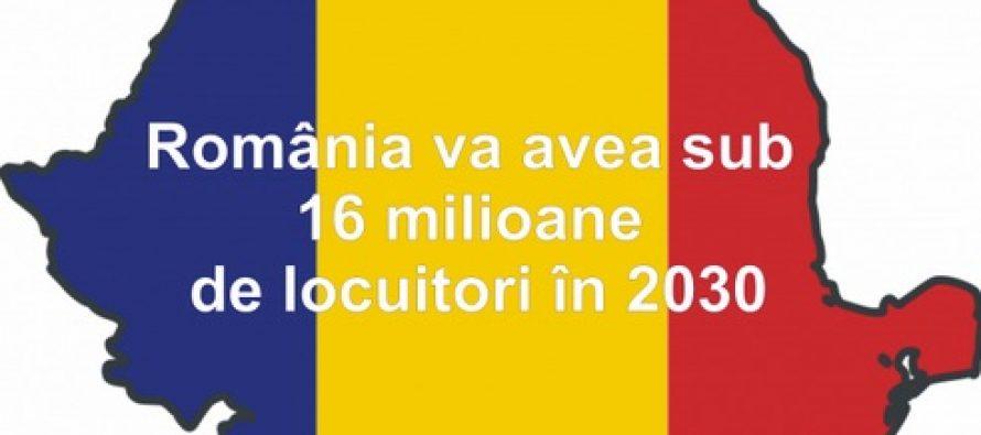 Romania va avea 16 milioane locuitori, in anul 2030