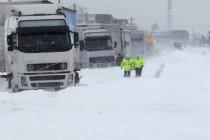 INFOTRAFIC, 31 ianuarie: Atentie, sunt drumuri inchise in judetele Constanta, Tulcea si Ialomita