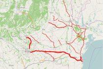 INFOTRAFIC: Circulatie rutiera intrerupta pe trei autostrazi si pe mai multe drumuri nationale
