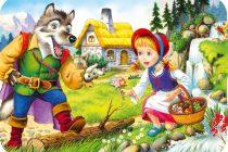 Scufita Rosie de Fratii Grimm | POVESTI PENTRU COPII