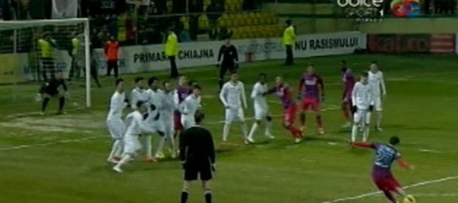 Concordia Chiajna – Steaua 1-4 (0-2) in etapa a XX-a a Ligii 1