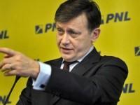 Crin Antonescu vorbeste despre problema pe care PNL o are in momentul de fata