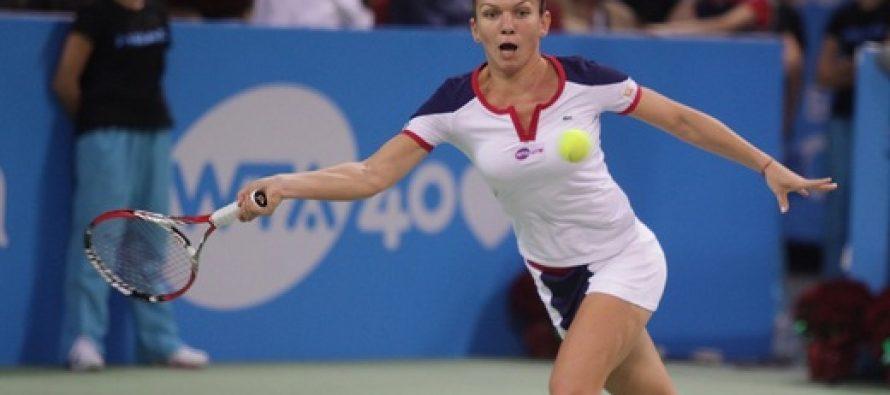 Simona Halep a fost invinsa de Agnieska Radwanska in semifinalele turneului de la Indian Wells