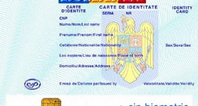NOILE CARTI DE IDENTITATE CU CIP BIOMETRIC, de la 1 aprilie – Cum vor arata noile buletine biometrice. FOTO