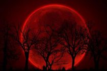 O eclipsa de luna totala va coincide, astazi, cu Super Luna albastra sangerie