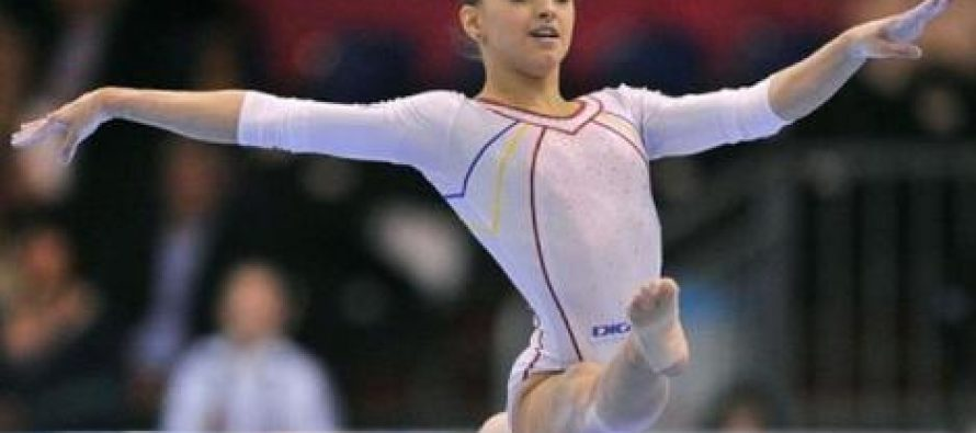 Gimnasta Larisa Iordache a obtinut medalie de aur la individual compus