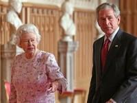 George W. Bush, test de inteligenta cu Regina Marii Britanii - BANCUL ZILEI
