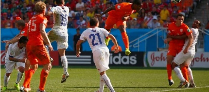 OLANDA – CHILE 2-0 (0-0) in Grupa B a Campionatului Mondial din Brazilia