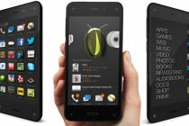 Amazon a lansat smartphone-ul Fire Phone, cu ecran care face imaginile să pară 3D.