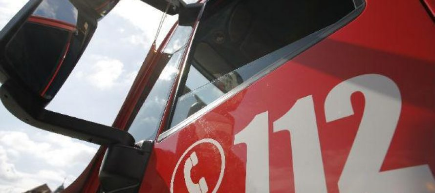 Incendiu puternic pe B-dul Magheru din Bucuresti, se actioneaza cu mai multe echipaje de pompieri