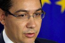 Premierul ii cere voie presedintelui Basescu sa mearga la Consiliul European