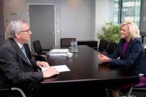 Comisarul european Corina Cretu… Portofoliul il aflam dupa ce lista va fi publicata in Monitorul Oficial al UE
