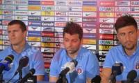 Steaua i-a prezentat intr-o conferinta de presa pe Papp, Rusescu si Bourceanu