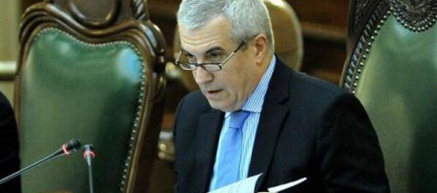 Tariceanu crede ca motiunea PNL nu are nicio sansa