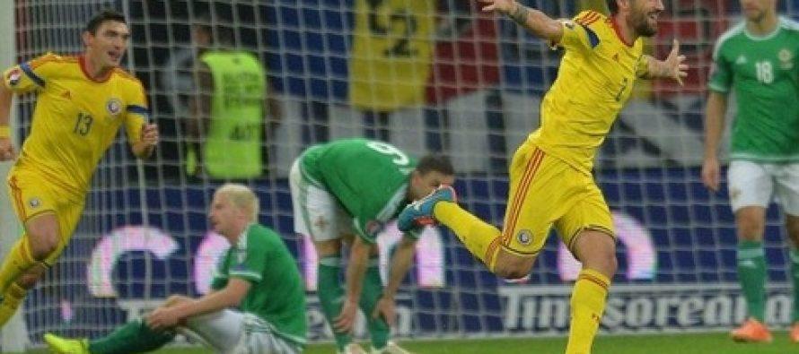 ROMANIA – IRLANDA DE NORD 2-0 (0-0) in preliminariile Euro 2016