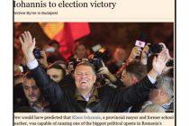 Financial Times: KLAUS IOHANNIS a provocat cea mai mare bulversare politica de dupa Revolutia din '89