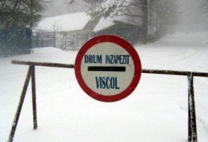 Infotrafic, 6 februarie 2020. Drumuri inchise in mai multe judete din tara – UPDATE