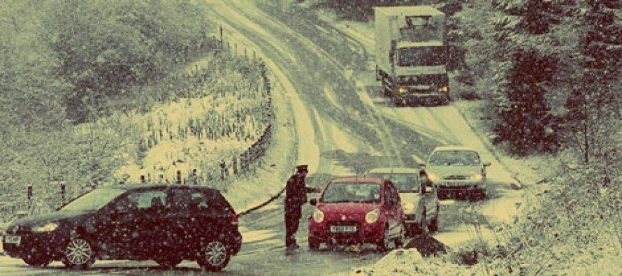 INFOTRAFIC, 10 decembrie 2014: Vezi daca sunt drumuri inchise sau autostrazi cu circulatia oprita