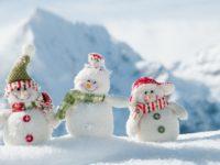 Decembrie, prima luna de iarna! Luna cadourilor este asteptata cu nerabdare de cei mici si cei mari