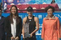 SIMONA HALEP, triumfatoare in turneul de tenis de la Shenzen
