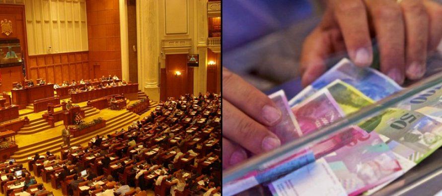 Parlamentul se reuneste pentru a gasi solutii la creditele in franci elvetieni