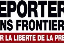 Libertatea presei in Romania, in coborare cu 7 locuri in clasamentul mondial realizat de Reporters sans Frontieres