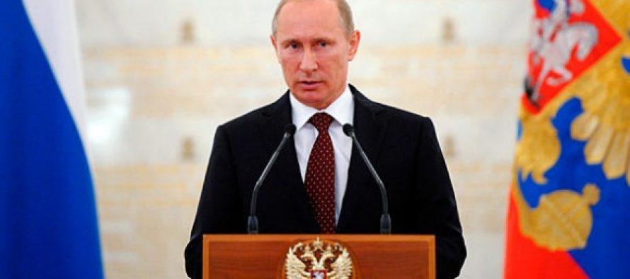 Vladimir Putin avertizeaza Occidentul si il acuza ca a provocat criza din Ucraina