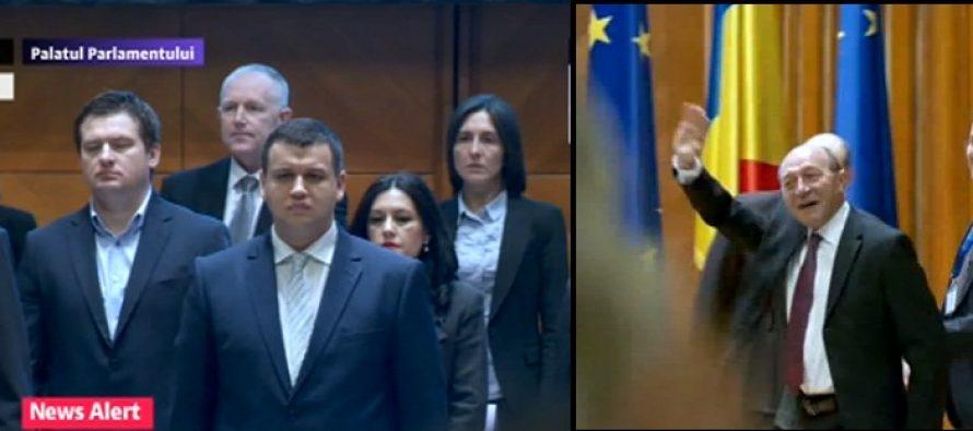 CONGRES PMP. Eugen Tomac a fost ales presedinte, Dorel Onaca secretar general. Basescu: Vom avea un parteneriat cu PMP