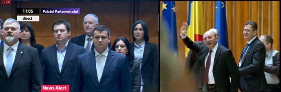 CONGRES PMP. Se alege conducerea partidului. Basescu: Vom avea un parteneriat cu PMP. Elena Udrea sper sa demonstreze ca e un om cinstit