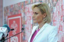 Gabi Firea se declara dezamagita de declaratiile presedintelui Iohannis: Romanii nu au votat pentru scandal si incitare la ura