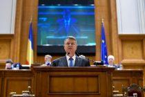 Iohannis, mesaj in Parlament: Statul nu poate da impresia unei functionari dezordonate, in care fiecare face ce vrea