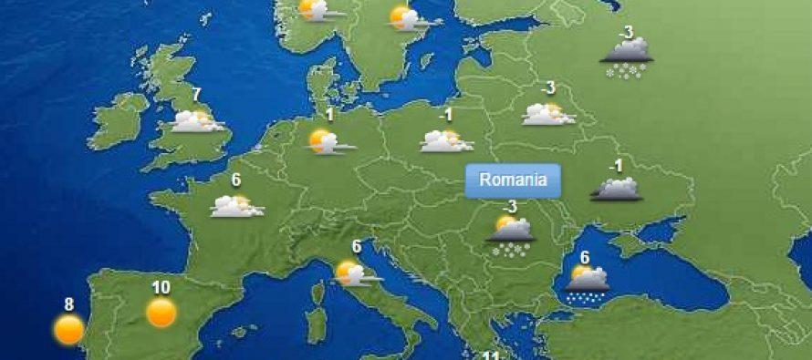 METEO: Duminica revin ninsorile si vremea se raceste