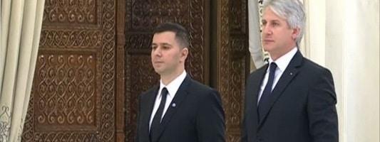 Eugen Orlando Teodorovici si Marius Nica, au depus juramantul la Palatul Cotroceni
