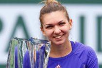 SIMONA HALEP a invins-o pe Jelena Jankovic in finala turneului de tenis de la Indian Wells