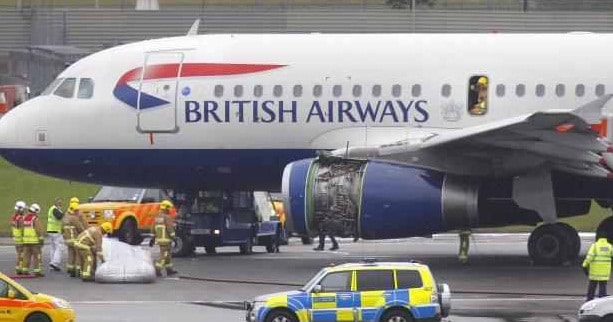 British Airways a suspendat toate zborurile directe intre Marea Britanie si China