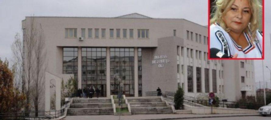 Carmen Marinescu, presedinta Tribunalului Olt, retinuta pentru luare de mita de la o ruda a lui Bercea Mondial