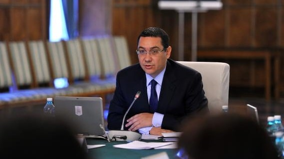 Victor Ponta preia Ministerul Finantelor in regim de interimat