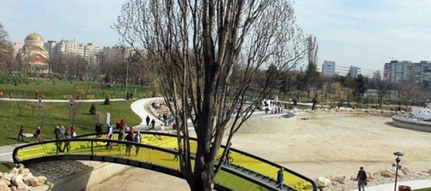 Parcul Drumul Taberei a fost deschis temporar pentru cei mici