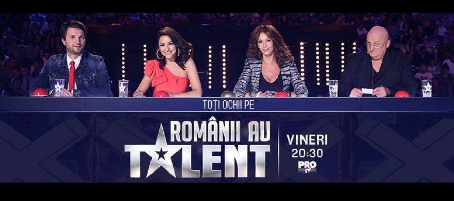ROMANII AU TALENT, SEZONUL 5 – 2015: Toti romanii sunt cu ochii pe ROMANII AU TALENT. De la 20.30 la Pro TV
