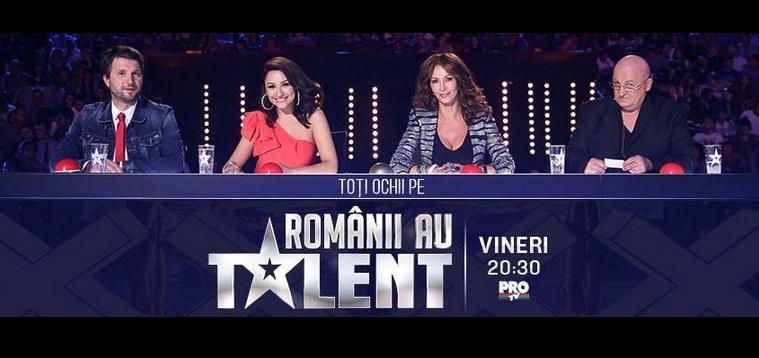 ROMANII AU TALENT, SEZONUL 5 - 2015: Toti romanii sunt cu ochii pe ROMANII AU TALENT. De la 20.30 la Pro TV