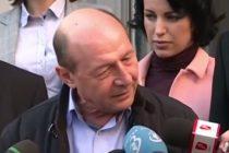 Basescu critica descinderile ANAF si DNA cu armate de cameramani