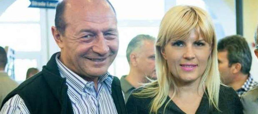 Traian Basescu: Elena Udrea si eu suntem doua tinte in miscare. Dar nu am emotii!