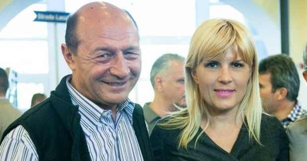 Traian Basescu: Elena Udrea si eu suntem doua tinte in miscare