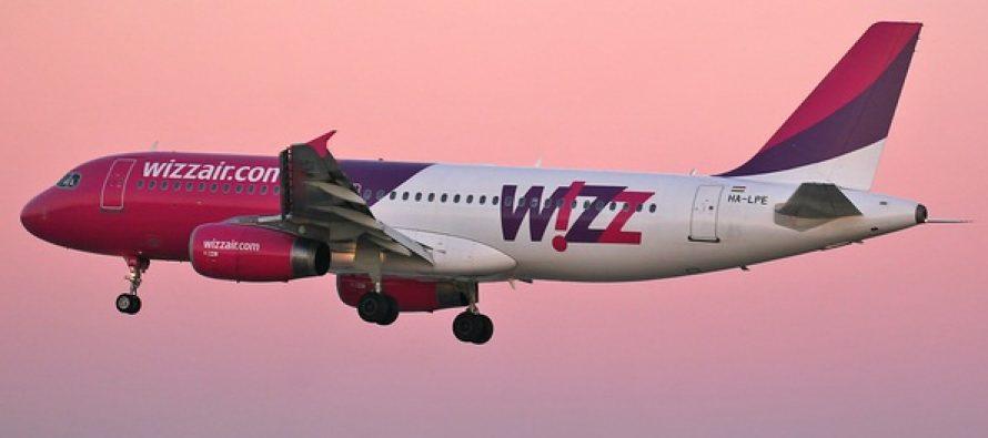 Bilete de avion la pret redus oferite de compania aeriana Wizz Air